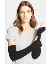 Autumn Cashmere - Ribbed Arm Warmers - Lyst