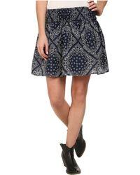 Ariat - Bandana Print Skirt - Lyst