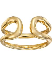 Giles & Brother Tiny Cortina Ring gold - Lyst