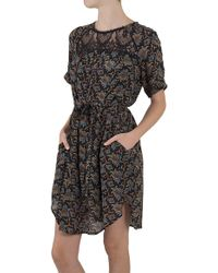 Sea Lace Combo Popover Dress - Lyst