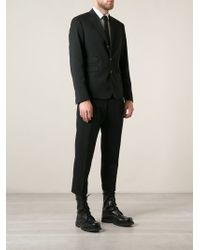 DSquared2 Cropped Trousers Suit - Lyst