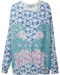 Stella McCartney Embroidered Sweatshirt - Lyst