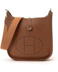 Hermès HermãˆS Shoulder Bag brown - Lyst