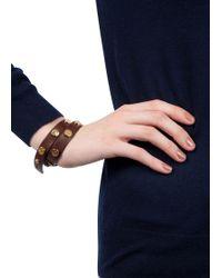 Tory Burch | Studded Wrap Bracelet | Lyst