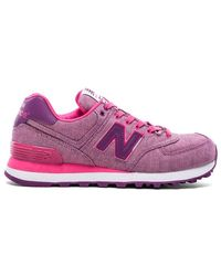 New Balance 574 Glitch Collection Sneaker - Lyst