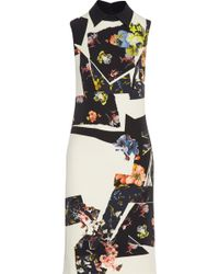 Erdem Floral-print Stretch-crepe Dress - Lyst