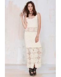 Nasty Gal Vintage Dahlila Crochet Dress - Lyst