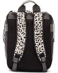 Lanvin Black Calf_hair Dalmatian Backpack - Lyst