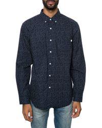 Obey The Baxter Ls Buttondown Shirt - Lyst