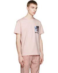Palm Angels | Pink Rebus T-shirt | Lyst