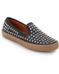 Rebecca Minkoff Kory Too Studded Sneakersblack - Lyst