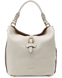 Burberry Sycamore Leather Shoulder Bag - Lyst