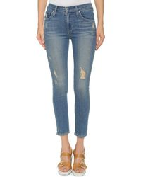 James Jeans Twiggy 5 Pocket Ankle Legging Jeans - Festival - Lyst