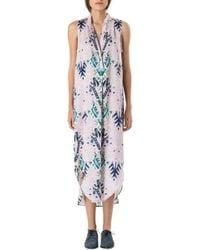 Mara Hoffman Sleeveless Shirt Dress - Lyst