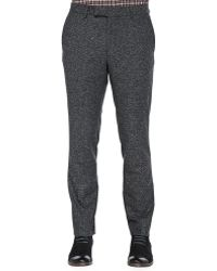 Vince Donegal Flat-front Trousers - Lyst