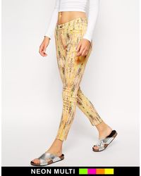 Finders Keepers You Sent Me Printed Jeans - Lyst