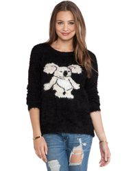 Mink Pink Blinky Knit Jumper - Lyst