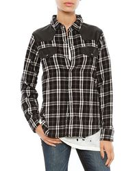 Current/Elliott The Western Shirt - Lyst