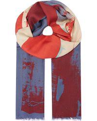 Vivienne Westwood Flag Scarf - Lyst