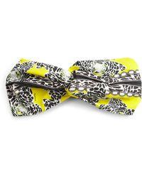 Roberto Cavalli | Printed Cotton Headband | Lyst