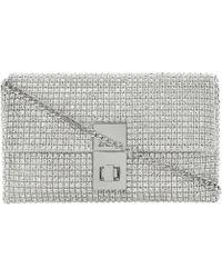 Dune Eliza Diamanté-Embellished Clutch Bag - For Women - Lyst