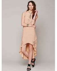 Free People Nora Cutwork Dress - Lyst