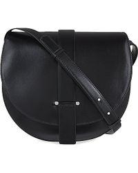 Jil Sander Robin Leather Messenger Bag - Lyst