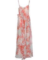 Cacharel Long Dress - Lyst