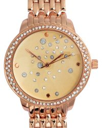 H&M Watch With Sparkly Stones - Pink