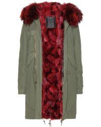Mr & Mrs Furs Garance Furlined Parka - Lyst