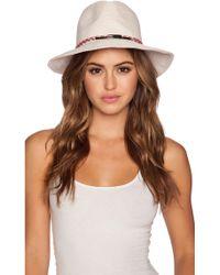 Eugenia Kim Courtney Hat white - Lyst