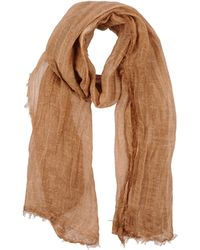Mauro Grifoni Oblong Scarf brown - Lyst