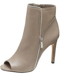 Vince Camuto Brown Klayton Bootie - Lyst