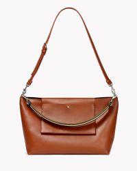 Theory Urban Shoulder Bag In Linden - Lyst