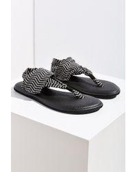 Sanuk Yoga Sling 2 Chevron Sandals - Black