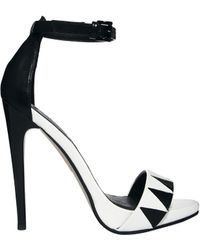 Asos Hellraiser Heeled Sandals - Lyst