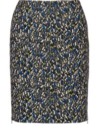 Yigal Azrouel Printed Ponte Skirt - Lyst