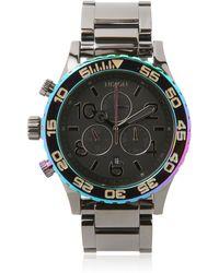 Nixon The 4220 Chronograph Watch - Lyst