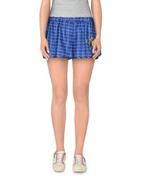 Alice San Diego Shorts blue - Lyst