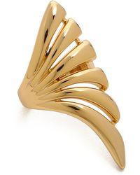 Rachel Zoe - Safari Cutout Ring - Gold - Lyst