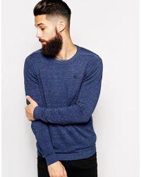 Diesel Crew Knit Sweater Kmanik - Lyst