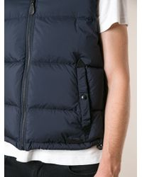 Burberry Brit Padded Vest with Removable Hood - Lyst