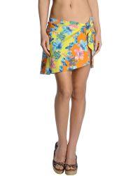 Versace Multicolor Sarong - Lyst