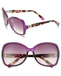 Furla | 59Mm Swarovski Crystal Sunglasses | Lyst