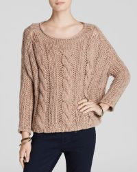 Free People Sweater - Maribel Cable - Lyst