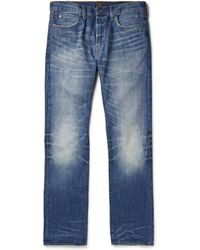 J.Crew 770 Slimfit Washed Denim Jeans - Lyst