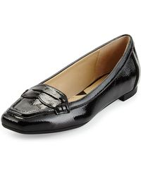 Adrienne Vittadini   Blaker Patent Loafer   Lyst