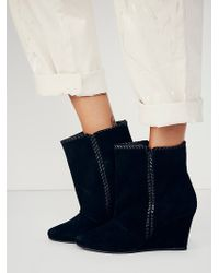 Free People Up All Night Wedge Boot - Lyst