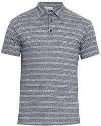 Richard James | Striped Polo Shirt | Lyst