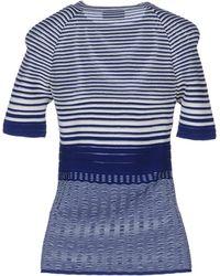Missoni Short Sleeve Sweater - Lyst